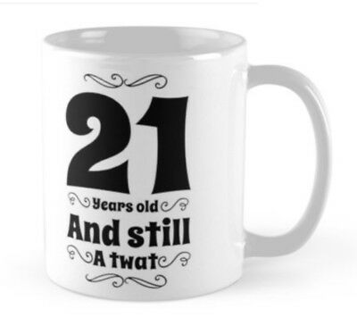21 21st Birthday Gift Idea Funny Mug Cup Card Alternative Born 1998 Brother