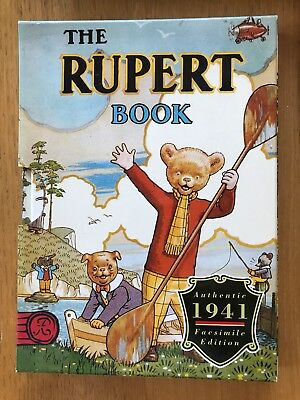 RUPERT BEAR ANNUAL 1941 FACSIMILE 1941 brand new and sealed
