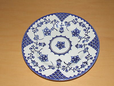 VINTAGE 7  plate ROMANCE by ENGLISH IRONSTONE TABLEWARE LTD ENGLAND Good order & VINTAGE 7