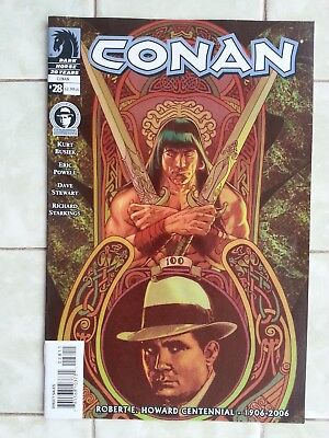 Conan # 28 / Robert E. Howard Centennial issue /Eric Powell/Conan the Barbarian
