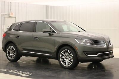 Lincoln MKX Reserve 2018 Reserve New 3.7L V6 24V Automatic Front-wheel Drive SUV