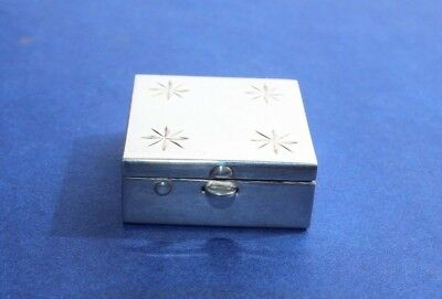 Vintage Tiffany Sterling Silver Pill Box