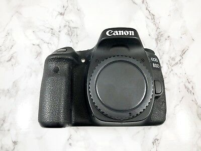 7/10 condition Canon EOS 80D 24.2MP Digital SLR Camera