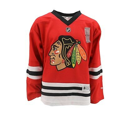 c977d2e07 Chicago Blackhawks Official NHL Reebok Kids Youth Size Jersey New with Tags