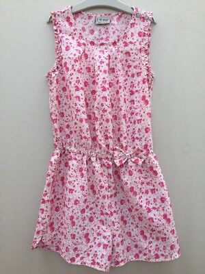Next Girls Floral Playsuit Aged 9 Years