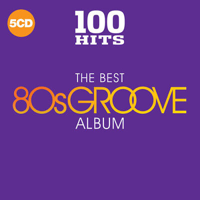 Various Artists - 100 Hits: The Best 80S Groove Album [New CD] Boxed S