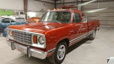 1977 Dodge Other Pickups SE 1977 Dodge D200 SE Club Cab