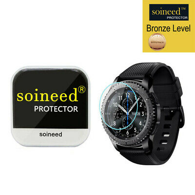 [2-PACK] SOINEED Tempered Glass Screen Protector For Samsung Gear S3 Frontier