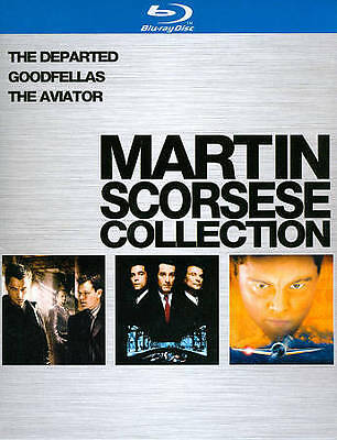 Martin Scorsese Collection (Blu-ray Disc, 2010, 3-Disc Set) w/ Slipcover NEW