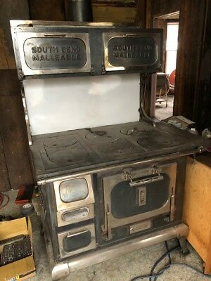 South Bend Malleable Stove - Model 8184
