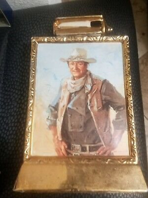 John Wayne 1979 Mike Wayne Distilled Products Whiskey Decanter