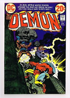 THE DEMON #5  Curse of the Witch! 1973 Etrigan Merlin Jack Kirby 7.0 DC Comics
