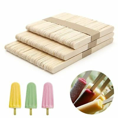 50pcs/lot Ice Cream Tools Funny Ice Cream Stick New Wooden Popsicle Stick DIY ki