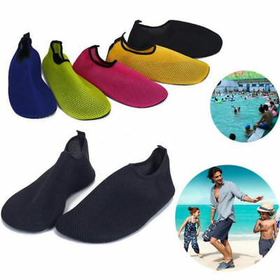 Mesh Beach Shoes Yoga New Solid Color Flats Men Water Sports Soft All Sizes