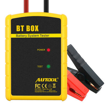 AUTOOL BT-BOX 12V Auto Batterietester Ladestation Test für iOS Android Bluetooth
