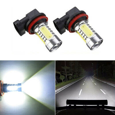 2Pcs H11 LED Bright Error free projector Fog Light bulb For BMW E90 325 328 335i