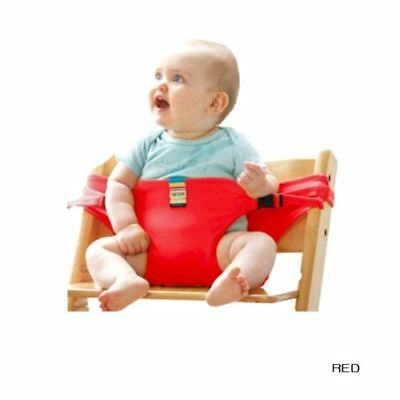 Portable Safe Travel Baby High Chair Belt Seat Infant Kids Sack Sacking Seat AU