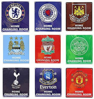 Official New Football Club FC Home Changing Room Sign - Man Utd Liverpool & More