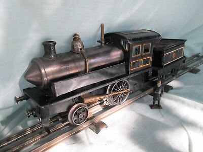 Gauge 1 Pre WW1 Georges Carette Live Steam Locomotive and Tender, Like Bing.