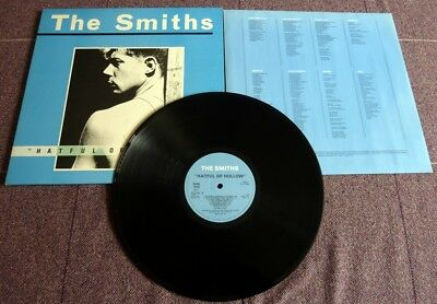"The Smiths, ""hateful Of Hollow"" 1984 Rough Trade Lp With Inner And Gate-Fold."