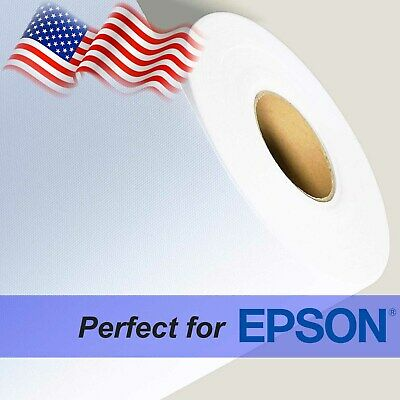 "17""x40ft,Polyester Matte Waterproof Canvas Roll for Epson Aqueous Inkjet Printer"