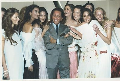 MODE - MANNEQUINS -  VALENTINO Photo Presse Originale 1999