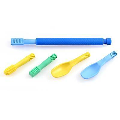 ARK's Z-Vibe Oral Therapy Feeding Speech Tool Travel Kit (5 tips with case)
