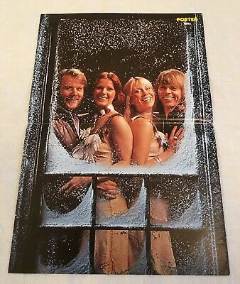 Cover Abba Special - From Sweden Swedish Poster Magazine 1970s #2½-1977