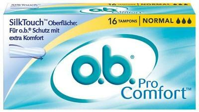o.b. Tampons ProComfort normal 16St PZN: 1021777