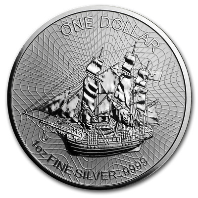 COOK ISLAND 1 Dollar Argent 1 Once Bounty 2019