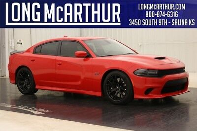 Dodge Charger SRT 392 SCAT PACK R/T 8 V8 HEMI HELLCAT WHEELS RED LEATHER ONE OWNER! CLEAN AUTOCHECK ZURICH CERTIFIED WARRANTY DVD AUDIO BLUETOOTH SIRIUS