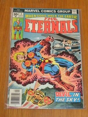 Eternals #3 Vg (4.0) Marvel Comics September 1976*