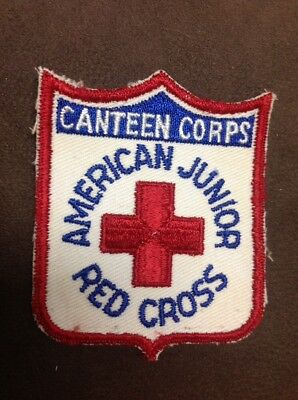 ww2 red cross junior canteen corps arc patch