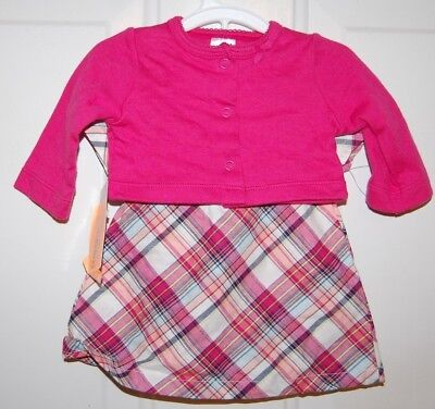ab8dc5856 NEW INFANT BABY Girls Carters Just One You Dress Bloomers   Jacket ...