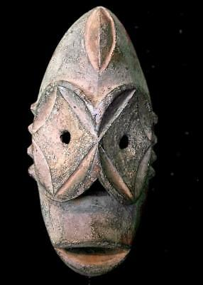 Old  Tribal Bembe Star  Mask      --- Congo BN 43