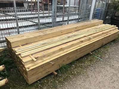 """2""""X1"""" by 12ft Timber (50mm x 25mm by 3.6m)"""