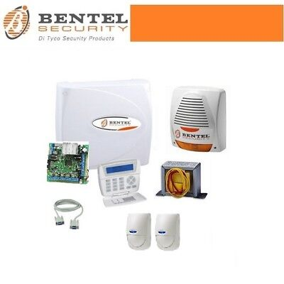 Centrale allarme 8 zone filari bentel security norma 8 for Bentel call pi