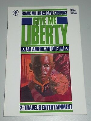 Give Me Liberty Vol 2 Travel & Entertainment Dark Horse Miller Graphic Novel