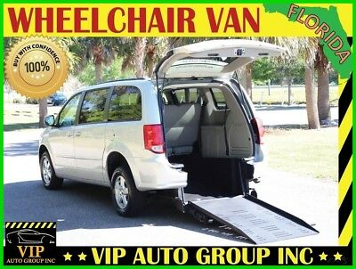 Dodge Grand Caravan SXT 2012 Dodge Handicap Wheelchair Van BraunAbility Rear Enter Manual Ramp