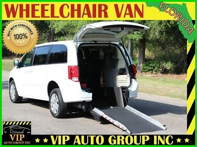 Dodge Grand Caravan SE 2017 Dodge Handicap Wheelchair Van Mobility Rear Entry Manual Ramp