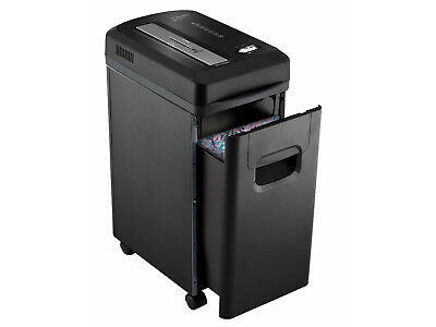 15 Litre 8 Sheet Capacity Micro Cross Cut Shredder Paper Cards Micro Cut Q8MICRO
