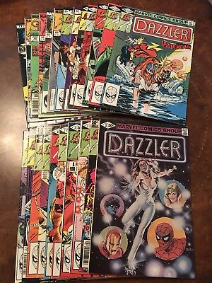 Lot of 23 Marvel The Dazzler #1-42 bronze age comic books Uncanny X-Men