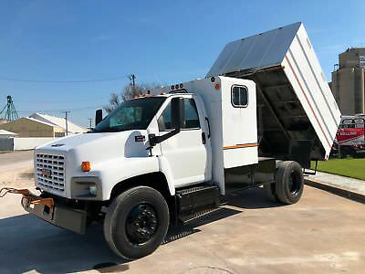 Gmc 6500 Chipper Bed Dump Truck Low Miles Seating For 7 Tree Trimming 2006 2007