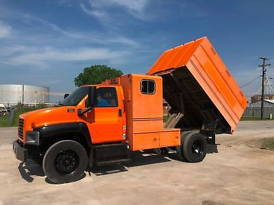 Gmg 6500 Chipper Bed Dump Truck Tree Trimming Low Miles Gas