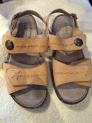 Hotter Comfort Concept Size 5 Yellow Sandals