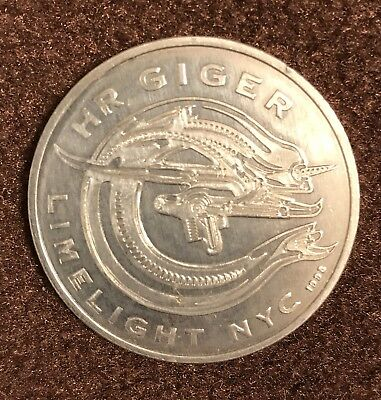 HR Giger Coin from Limelight NYC VIP Room
