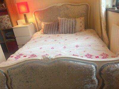 French Demi Corbielle Double Bed