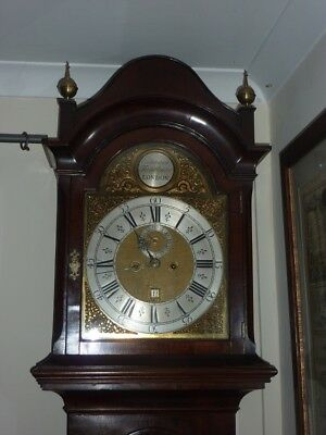 A Superb 8 Day Longcase Clock by Edward Faulkner of London c1720.