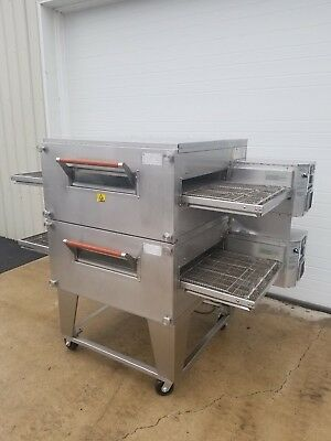"Xlt Model 2440C Double Stack Gas Pizza Oven ***24"" Belt Width***"
