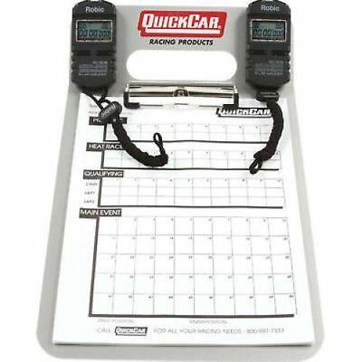 Quickcar Racing Products 51-070 Aluminum Clipboard Timing System 505 watch